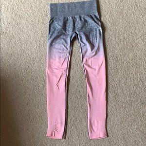 Gymshark ombré seamless leggings XS